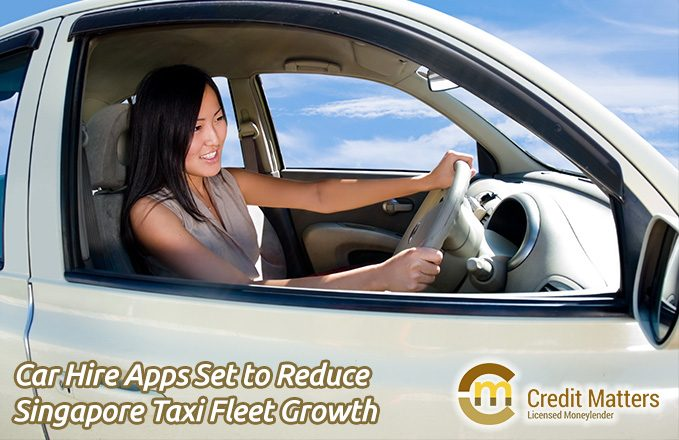 Car Hire Apps Set to Reduce Singapore Taxi Fleet Growth